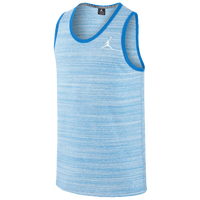 Jordan Dyed Tank - Men's - Light Blue / White