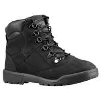 "Timberland 6"" Field Boots - Boys' Preschool - All Black / Black"