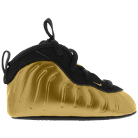 Nike Little Posite One - Boys' Infant - Gold / Black