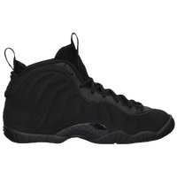 Nike Little Posite One - Boys' Grade School - All Black / Black
