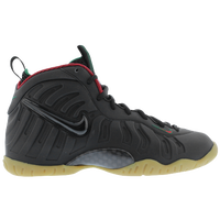 Nike Little Posite Pro - Boys' Grade School - Black / Red