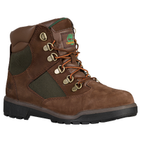 "Timberland 6"" Field Boots - Boys' Preschool - Brown / Olive Green"