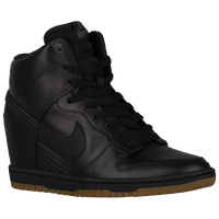 Nike Dunk Sky Hi - Women's - Black / Brown