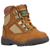 "Timberland 6"" Field Boots - Boys' Toddler - Tan / Brown"