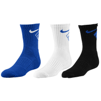 Nike 3 Pack Crew Socks - Boys' Preschool - Blue / White