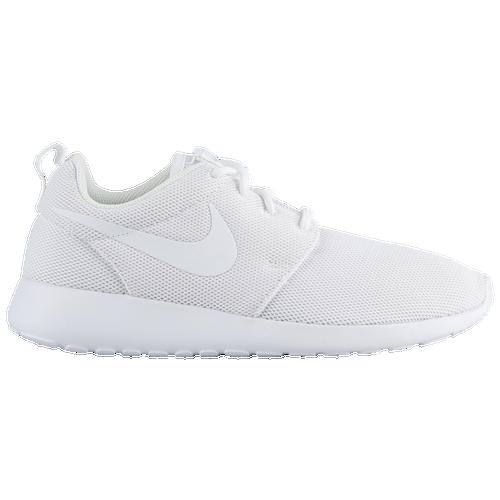 pqttx Nike Roshe One - Women\'s - Running - Shoes - White/White/Pure Platinum