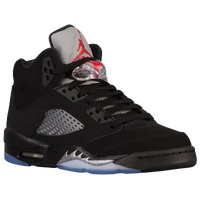 Jordan Retro 5 - Boys' Grade School - Black / Red