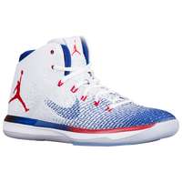 Jordan AJ XXXI - Men's - White / Red
