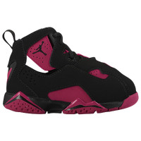 Jordan True Flight - Girls' Toddler - Black / Maroon