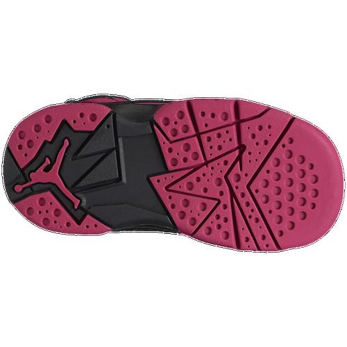 Jordan True Flight - Girls' Toddler - Basketball - Shoes - Black
