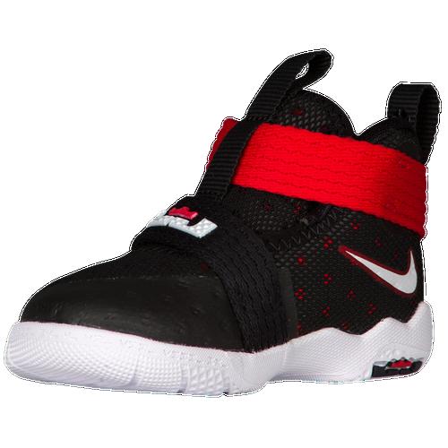 Nike LeBron Soldier 10 - Boys' Toddler - LeBron James - Black / White
