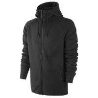 Nike Tech Fleece Windrunner - Men's - All Black / Black