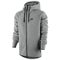 Nike Tech Fleece Windrunner - Men's - Grey / Black