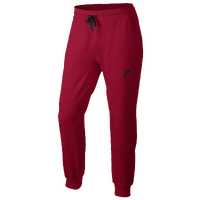 Nike Tech Fleece Pants - Men's - Red / Red