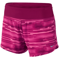 "Nike Dri-FIT 4"" Woven Rival Shorts - Women's - Pink / Pink"