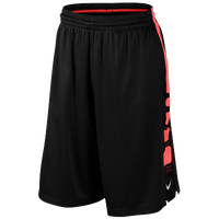 Nike Elite Stripe Shorts - Men's - Black / Red