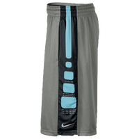 Nike Elite Stripe Shorts - Men's - Grey / Black