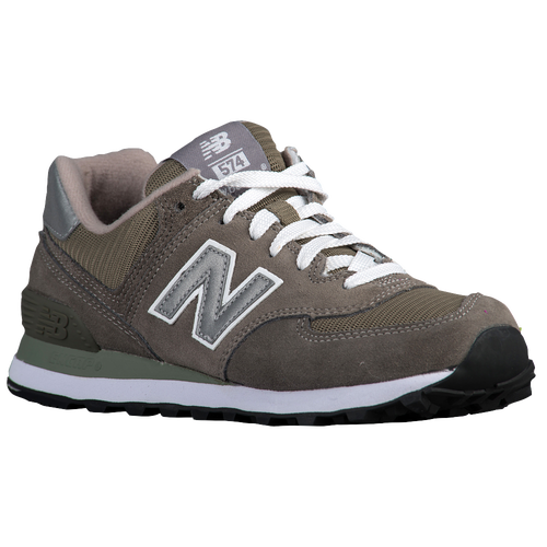 New Balance 574 - Women\u0026#39;s - Grey / Silver