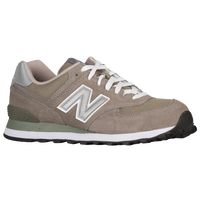 New Balance 574 - Men's - Grey / Grey