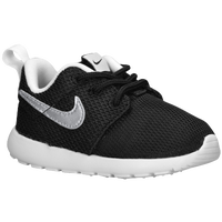 Nike Roshe Run - Boys' Toddler - Black / White