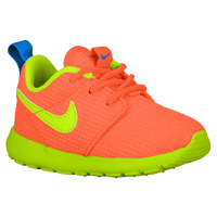 Nike Roshe Run - Boys' Toddler - Orange / Light Blue