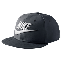 Nike True Snapback Cap - Boys' Grade School - Black / White