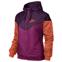 Nike Windrunner Jacket - Women's - Pink / Purple