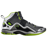 Under Armour Micro G Grid Iron - Boys' Grade School - Grey / Light Green