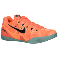 Nike Kobe IX EM - Men's - Orange / Black