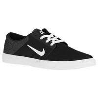 Nike SB Portmore - Men's - Black / White