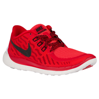 Nike Free 5.0 2015 - Boys' Preschool - Red / Black