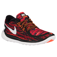 Nike Free 5.0 2015 - Boys' Grade School - Black / Orange