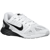 Nike LunarGlide 7 - Men's - White / Black