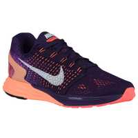 Nike Lunarglide 7 - Women's - Purple / Orange