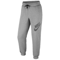 Nike AW77 Fleece Cuff Pants Logo26 - Men's - Grey / Grey