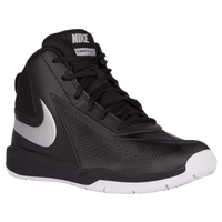 Nike Team Hustle D 7 - Boys' Grade School - Black / Silver