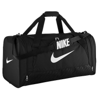 Nike Brasilia 6 Large Duffel - Black / White