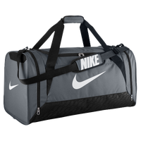 Nike Brasilia 6 Large Duffel - Grey / White