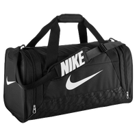 Nike Brasilia 6 Medium Duffle - Black / White