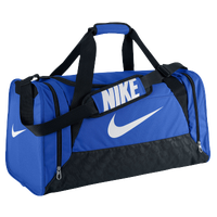 Nike Brasilia 6 Medium Duffle - Blue / White