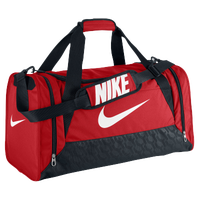 Nike Brasilia 6 Medium Duffel - Red / White