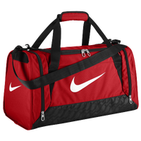 Nike Brasilia 6 Small Duffel - Red / White