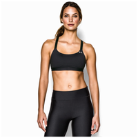 Under Armour HG Eclipse Bra - Women's - All Black / Black