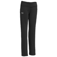 Under Armour Rally Pant - Girls' Grade School - All Black / Black