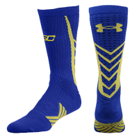 Under Armour Curry Undeniable Socks - Men's -  Stephen Curry - Blue / Light Green