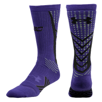 Under Armour Curry Undeniable Sock - Men's -  Stephen Curry - Purple / Black
