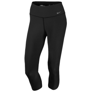 Nike Legend 2.0 Tight Poly Capris - Women's - Black/Cool Grey