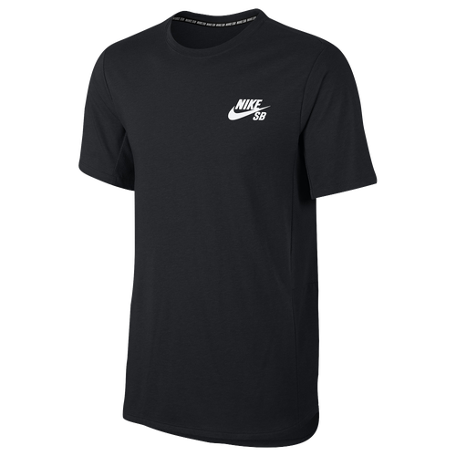 Nike SB Skyline Cool Short Sleeve T-Shirt - Men's - Black / White