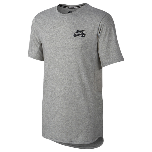 Nike SB Skyline Cool Short Sleeve T-Shirt - Men's - Grey / Grey