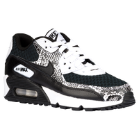 Nike Air Max 90 - Girls' Grade School - Black / White